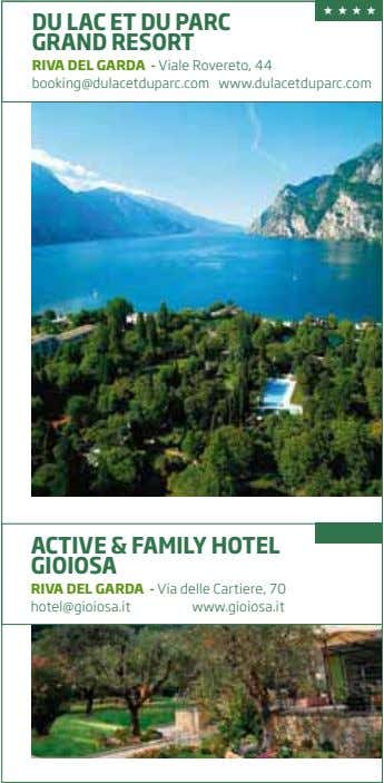 ★ ★ ★ ★ DU LAC ET DU PARC GRAND RESORT RIVA DEL GARDA -