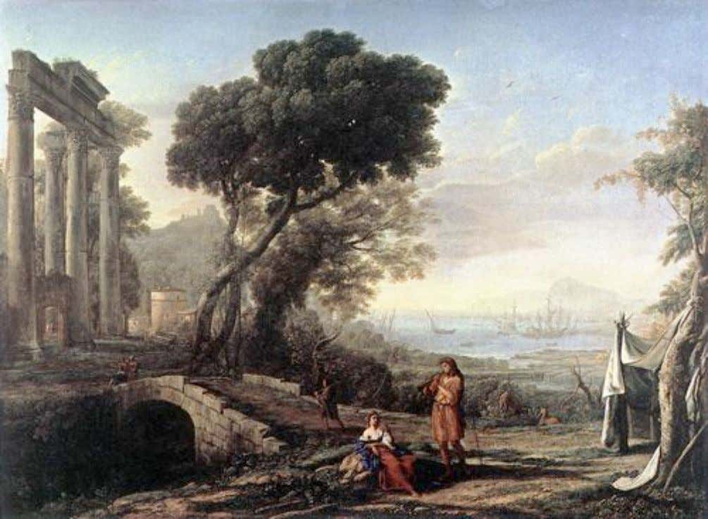 Italian Coastal Landscape (1642) Claude Lorraine Oil on canvas