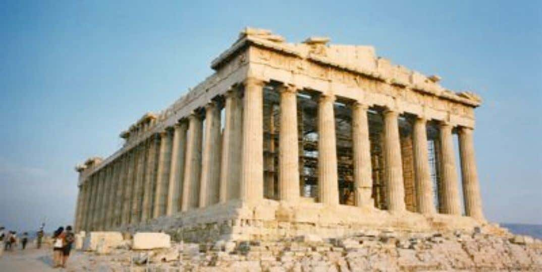 Parthenon,Athens, Greece (431 B.C.)