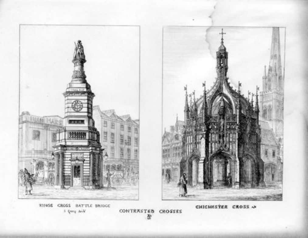 Contrasts (1836) A.W.N. Pugin