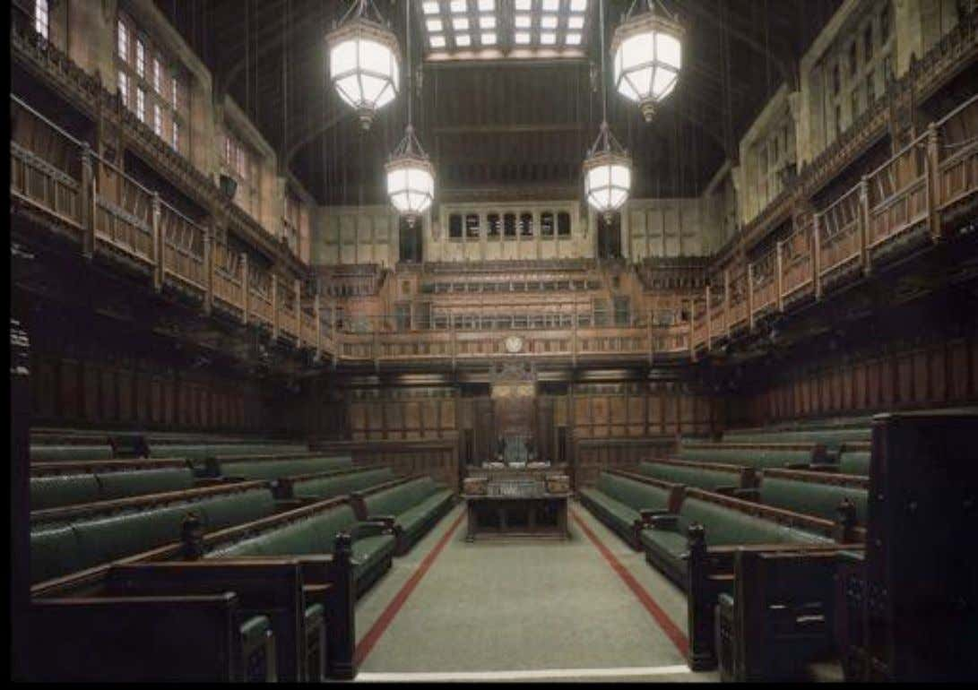 House of Commons, Rebuilt 1941 Giles Gilbert Scott