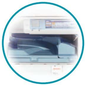 option to separate outputs from different system functions. The Ricoh Aficio MP C2500/C3000 can be equipped