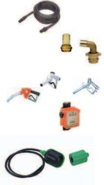 Valvola di non ritorno a palla (flangiata) DN 80 PN 10 Kit for suction with 7