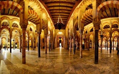 And Umayyad Caliphate left monuments like the Mezquita. Also their music heritage is very important. With