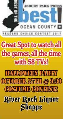 Great Spot to watch all the games, all the time with 58 TVs! Halloween Party
