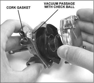Figure 16 Figure 17 3. Remove the clip retaining the diaphragm plunger to the secondary throttle