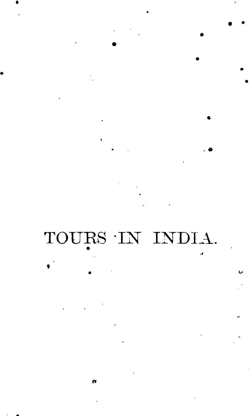 • • • • • • • • • • . 4a TOURS -IN INDI-_~.
