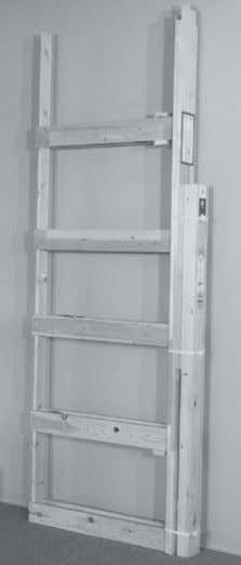 POCKET DOOR FRAMES (HALF KNOCK DOWN STYLE) SINGLE AND DOUBLE INSTALLATION NOTE FOR POCKET FRAME REPLACE