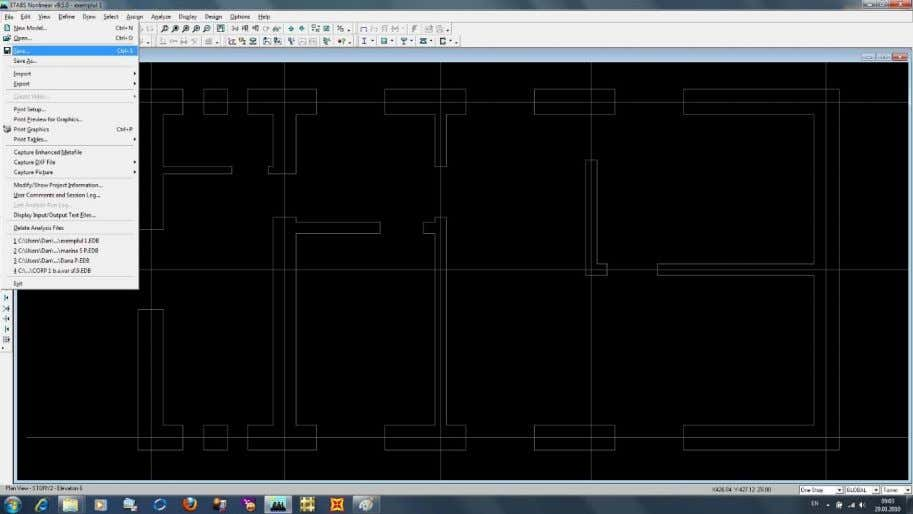 25.In the next step you can define different types of structural wall using planar finite