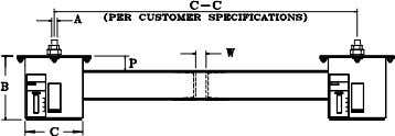 FIG. PTP -1 TYPE D SHORT SPRINGS TYPE E TYPE TYPE G F SEE PTP-2 (TYPE