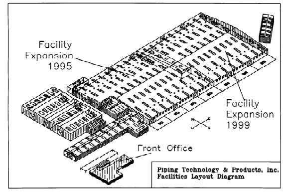 and improve our work space at our Holmes Road Facility: 1991: PT&P adds 17,000 square foot