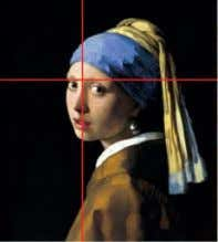 Fibonacci spiral: The Fibonacci spiral, pleasing to the eye Vermeer's Girl With A Pearl Earring, courtesy