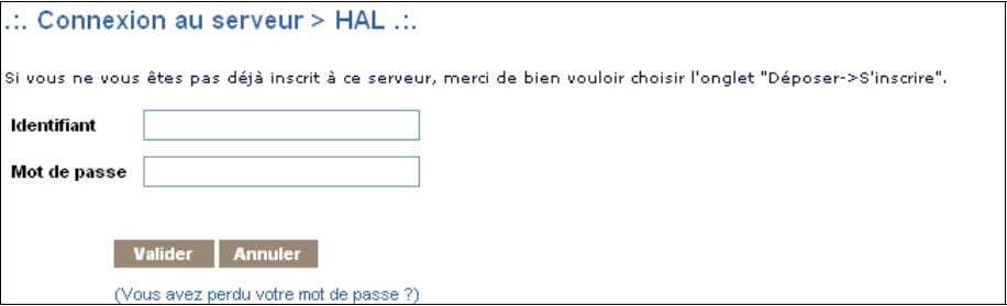 /index.php?action_todo=register 5. S'authentifier Pour s'authentifier : Formulaire d'authentification •