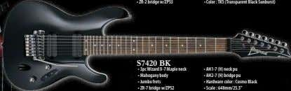 • ZR-2 bridge w/ZPS3 • Color : TKS (Transparent Black Sunburst) S7420 BK • 3pc