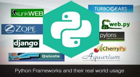 APPLICATIONS OF PYTHON