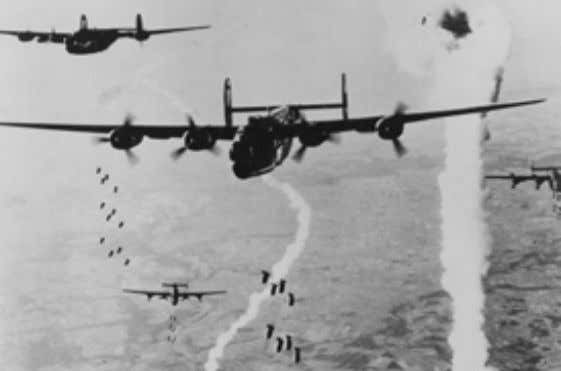 it was never used  credited with 72 U-boat kills. 96 Eighth Air Force B-24s release