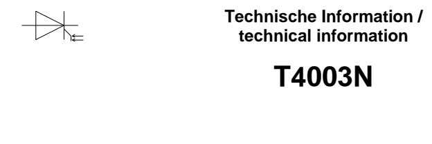 Technische Information / technical information T4003N