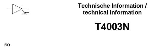 Technische Information / technical information T4003N 60