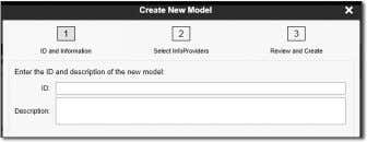 Create New Model dialog opens as shown in Figure 10.23. Figure 10.23 Creating an Embedded Model