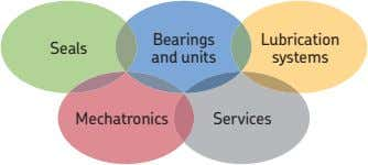 Bearings Lubrication Seals and units systems Mechatronics Services