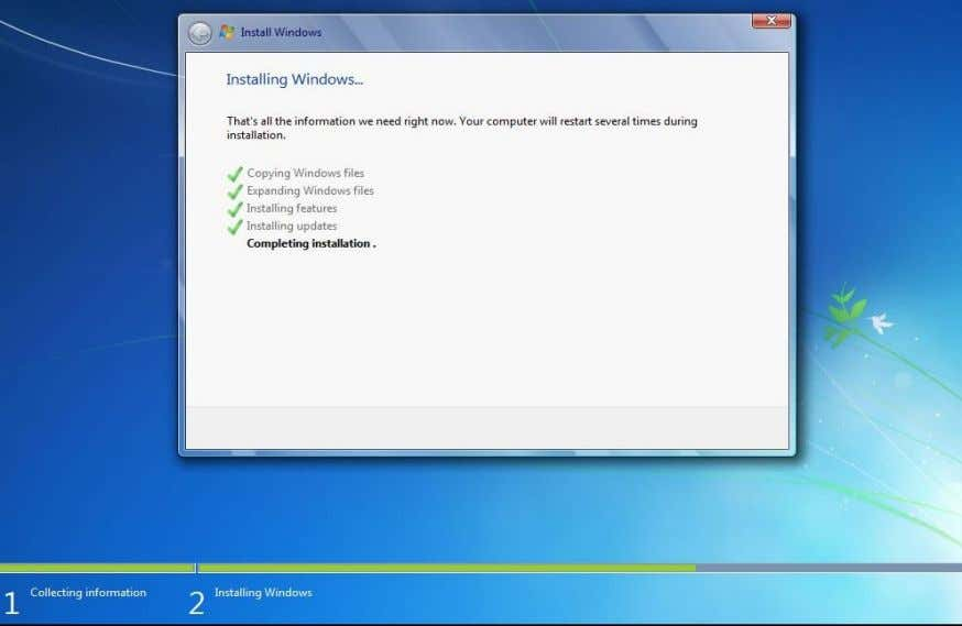 Windows Thundan (Windows installation) Lem51 Lem 51na pawh hi amahin a thawk , puih a tul