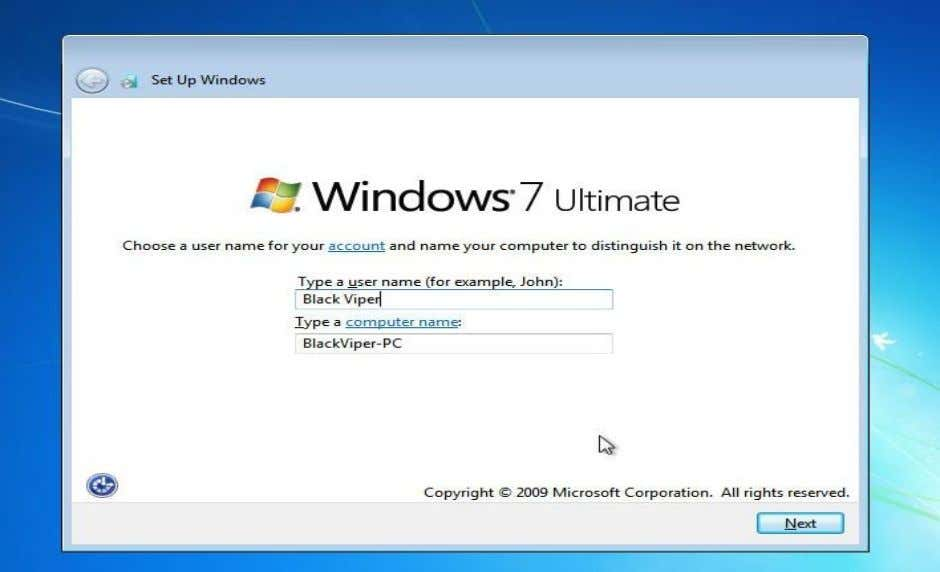 Windows Thundan (Windows installation) Lem 42 Lem 43 Lem 43ah chuan tih tur kan nei.Computer hming