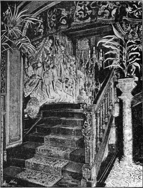 "of The Idler Magazine, An Illustrated Monthly, June 1893. the staircase. ""It was during the last"