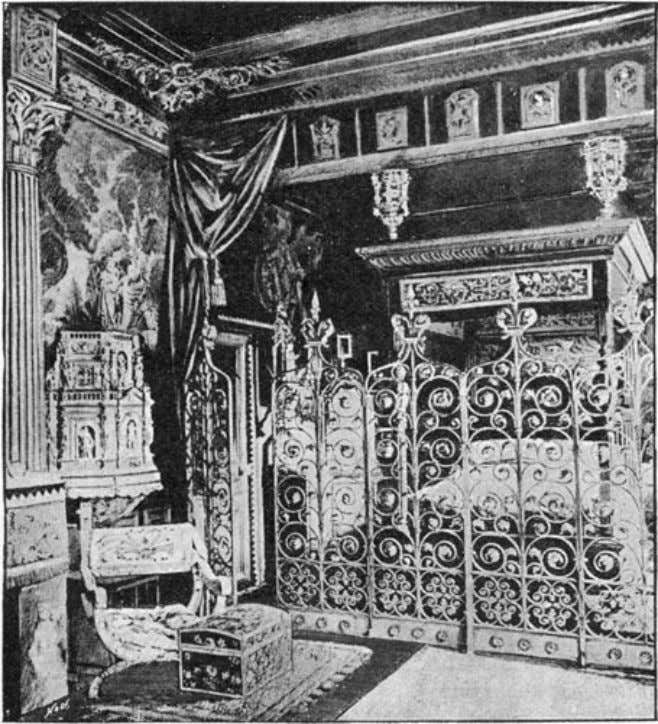 "of The Idler Magazine, An Illustrated Monthly, June 1893. the bedroom. ""As my evenings alone did"