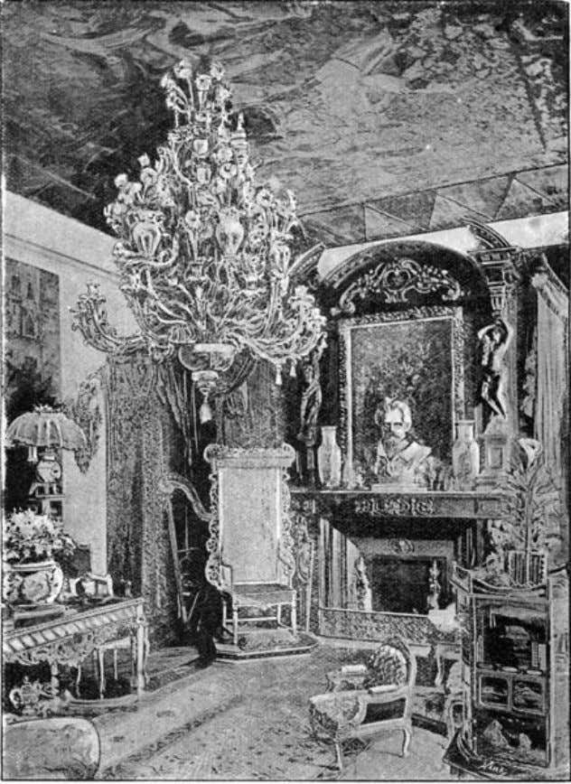 "of The Idler Magazine, An Illustrated Monthly, June 1893. the drawing room. [Pg 506] ""Some dates"