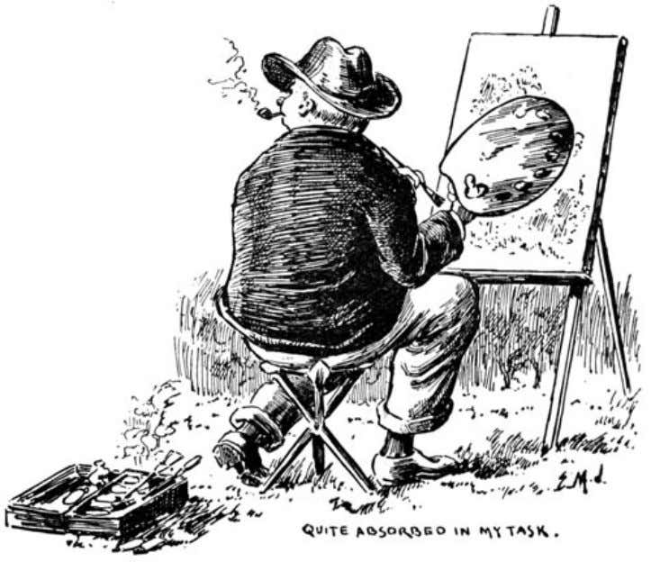 of The Idler Magazine, An Illustrated Monthly, June 1893. I resumed my sketch, when presently a