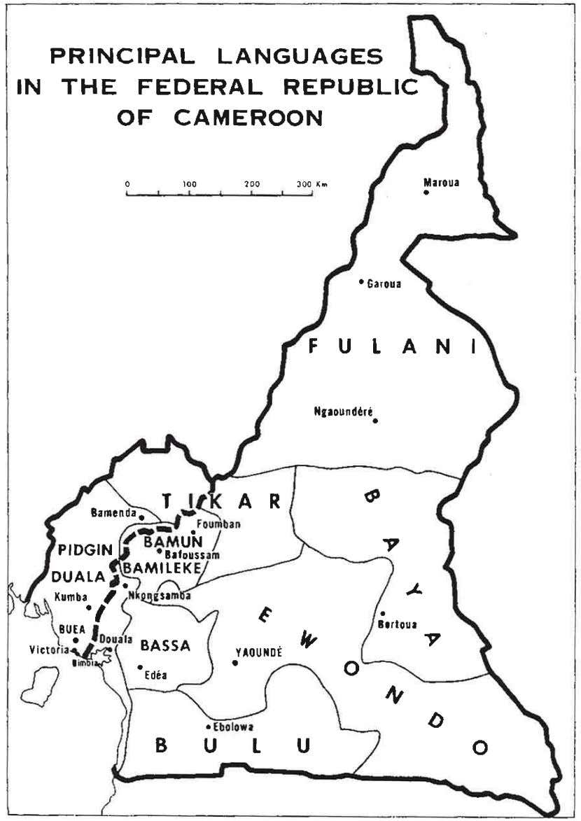 Educational, Linguistic and Socio-Political Overview of Cameroon 55 Figure 7 . Languages of wider communication and