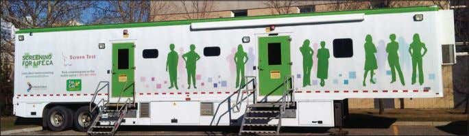 Call : 403-934-3025 or 403-934-5871 www.StrathmoreTimes.com A mobile mammography trailer is coming to Strathmore and