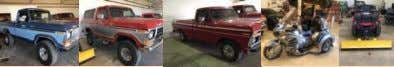 or to Consign your Items call Mike at 403-934-7653 (SOLD) ANTIQUE & OLDER VEHICLES (One Consignor)