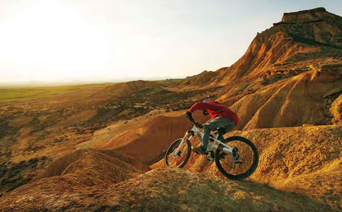 freerider riChard delaunay taCkles the Bardenas reales in spain. © jérémie reuiller PErP 1 Frame