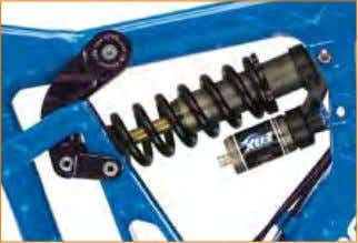 PErP 2 AdJUSTABle SUSPenSion deSign The PERP allows riders to choose between 180 or 200 mm