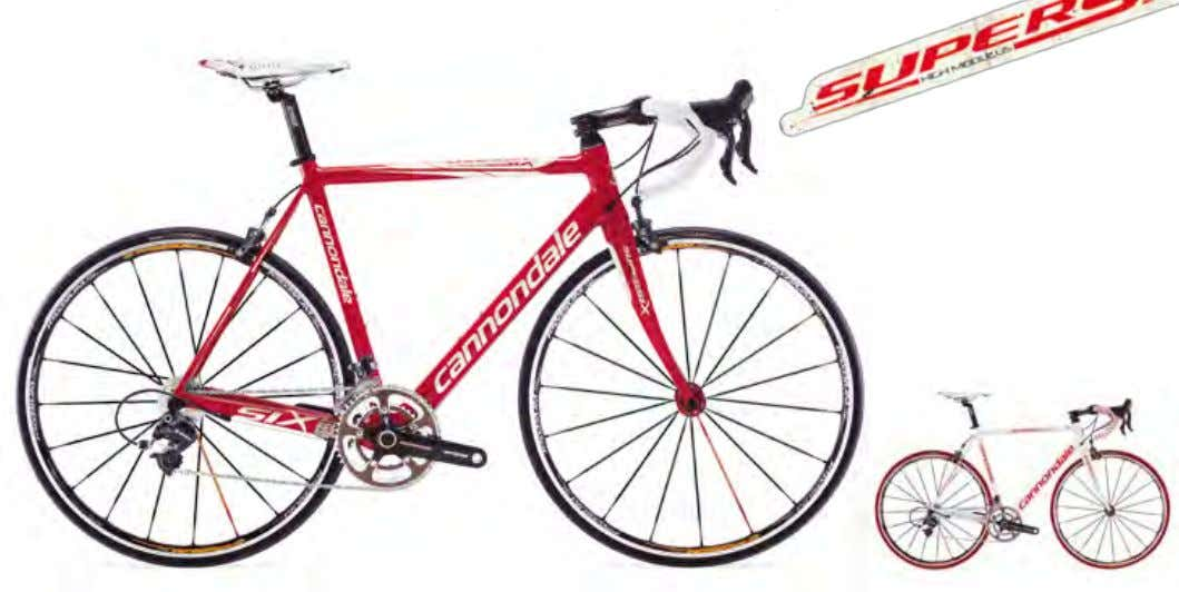 brakes SRAM RED color 1 Lightning White (gloss) (WHT) SuPErSix dura acE comPact Frame 09 SuperSix