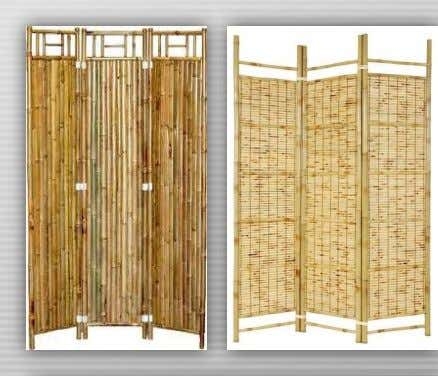 cattycorner in it or the bamboo divider can lay flat against the wall for dramatic effect.