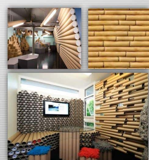 as other typical wallpaper. Bamboo wall covering can add a distinctive piece to the walls. 9