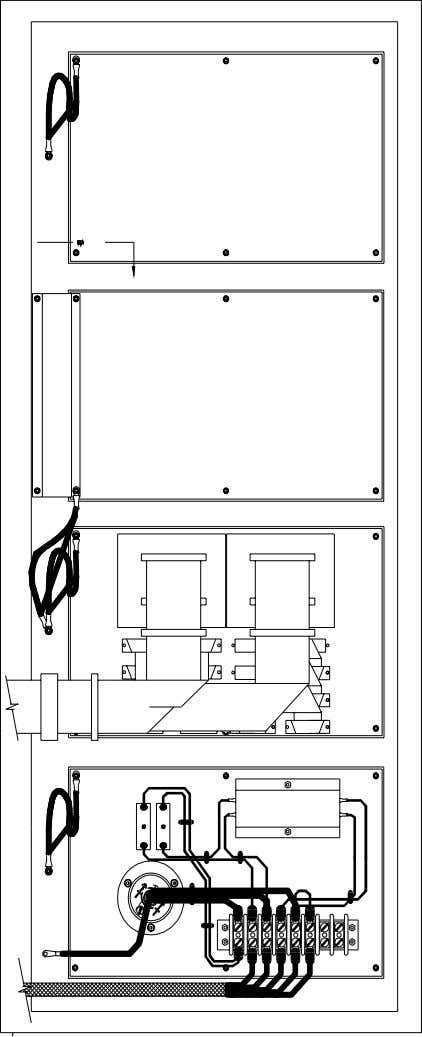 MVP 2120 Hardware Reference Manual Figure 2-6 Glenayre MVP 2120 - Inside the Rear Door PN