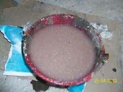 Gelcoat Fiberglass metode hand lay-up Campuran resin dan katalis 22