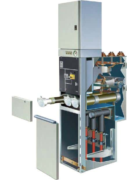 GMA Mechanical Design (contd.) Transformer feeder T1 with switch fuse combination Switch fuse combination T1 The