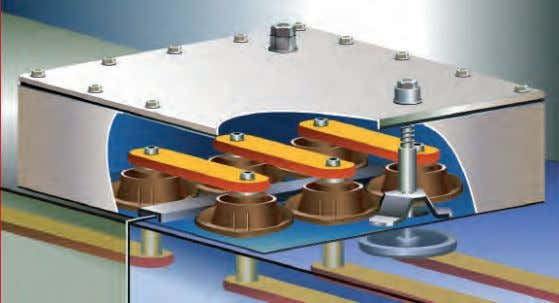 GMA Mechanical Design (contd.) Coupling chambers of adjacent modules (principle: busbar connection) Gas compensation
