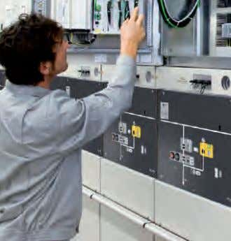 Mechanical Design (contd.) MICOM relay in GMA MICOM relay Low-voltage cabinet with devices installed in the
