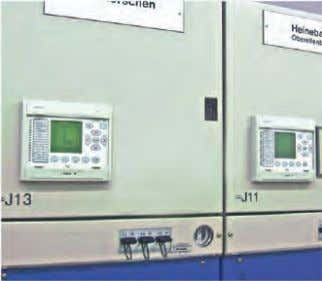 GMA Mechanical Design (contd.) MICOM relay in GMA MICOM relay Low-voltage cabinet with devices installed in