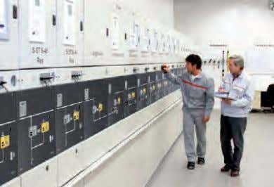 GMA Introduction (contd.) GMA switchgear Operator safety ■ Maximum protection against accidental contact due to