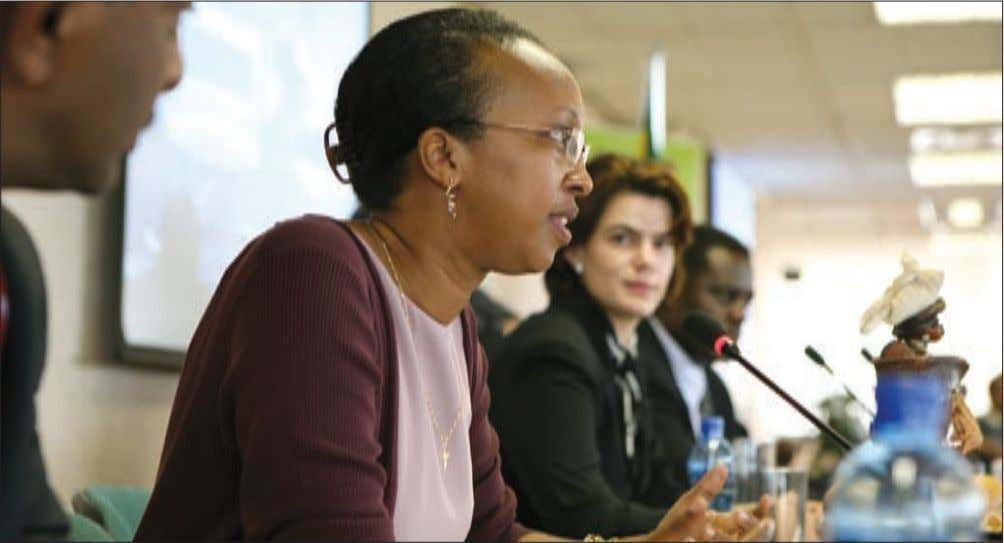 Jacqueline Nzoyihera, United Nations Office of the High Commissioner for Human Rights. international isolation) claimed to