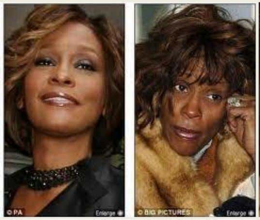 3 Whitney Houston 1 2 John Lennon Bob Marley