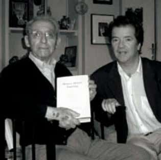 "is nor is not,"" but may be, Kearney has written. With philosopher Paul Ricoeur, 2005. Photograph:"