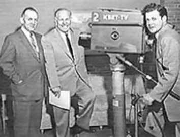 KBET / KXTV CELEBRATE 50 By Dan Adams March 20,1955, 2:15 PM. With the flip of