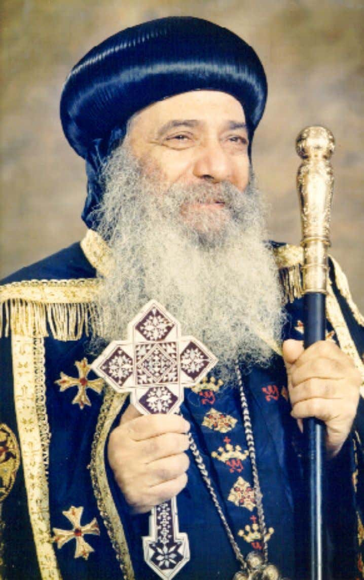 H.H. Pope Shenouda III, 117th Pope of Alexandria and the See of St. Mark